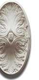 Selena Oval Ceiling Rose 630mm x 320mm