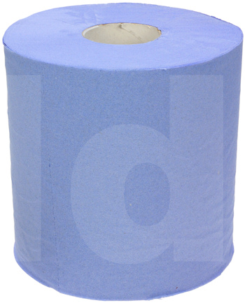 Budget Blue Tissue Centre Feed Roll - 2-Ply