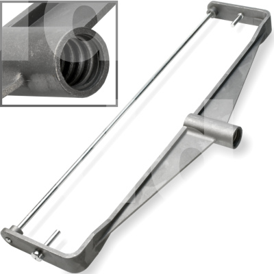 15 inch Duo Cast Double Arm Paint Rollers Frame / Screw-fit